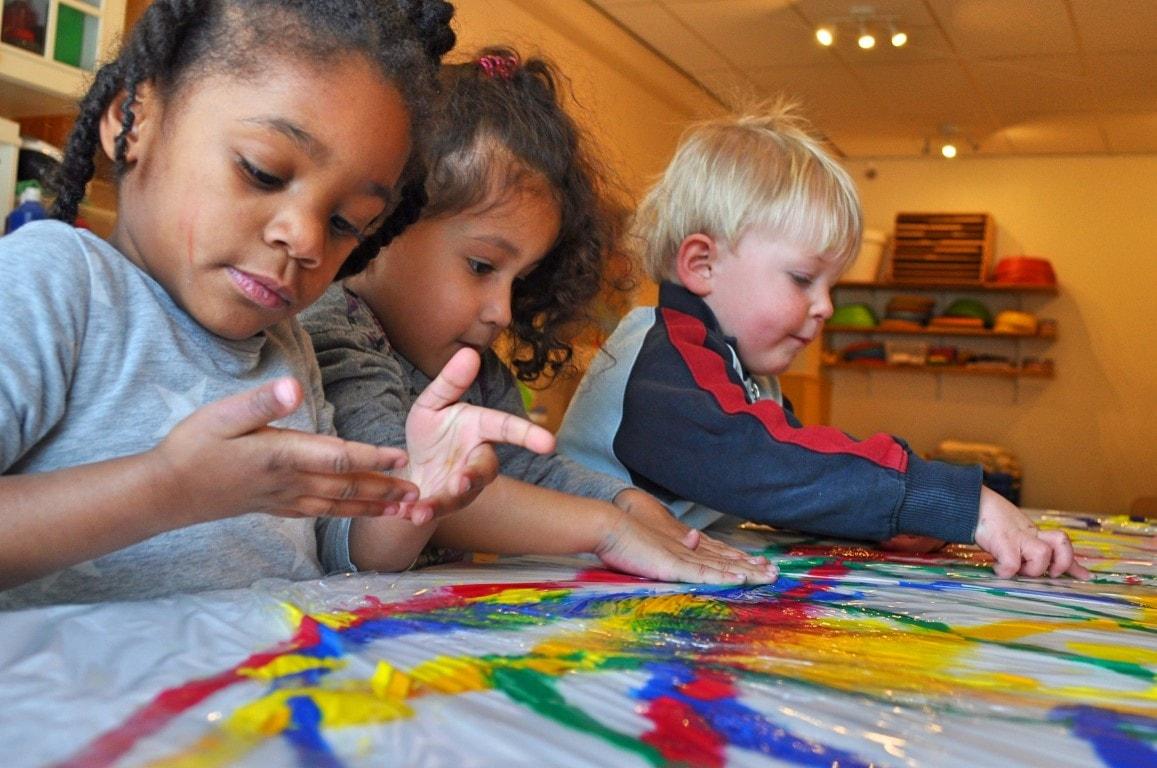 Verven - Hamertje-Tik Kinderdagverblijf, Kinderopvang en buitenschoolse opvang in Beijum, Groningen.